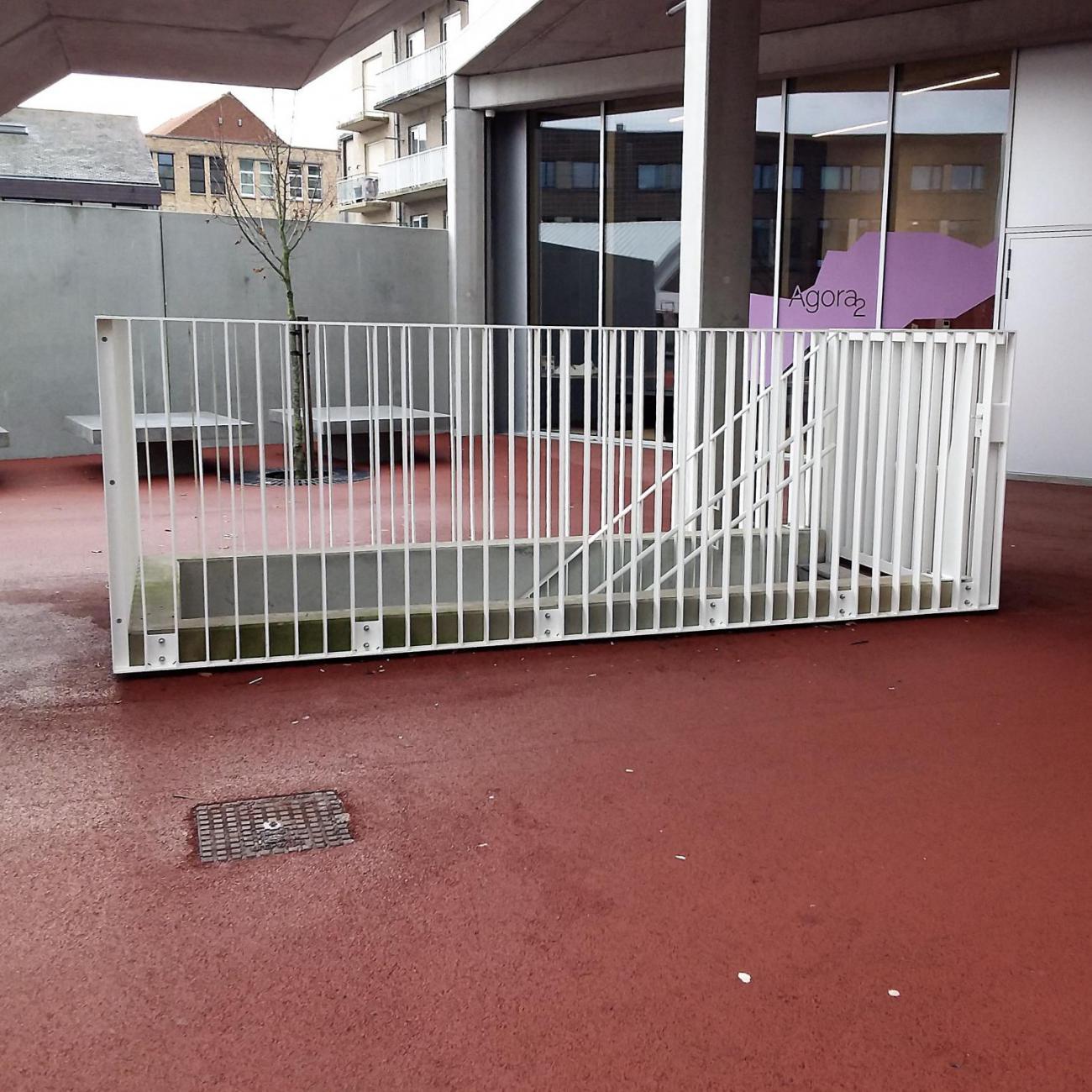 Stalen balustrades