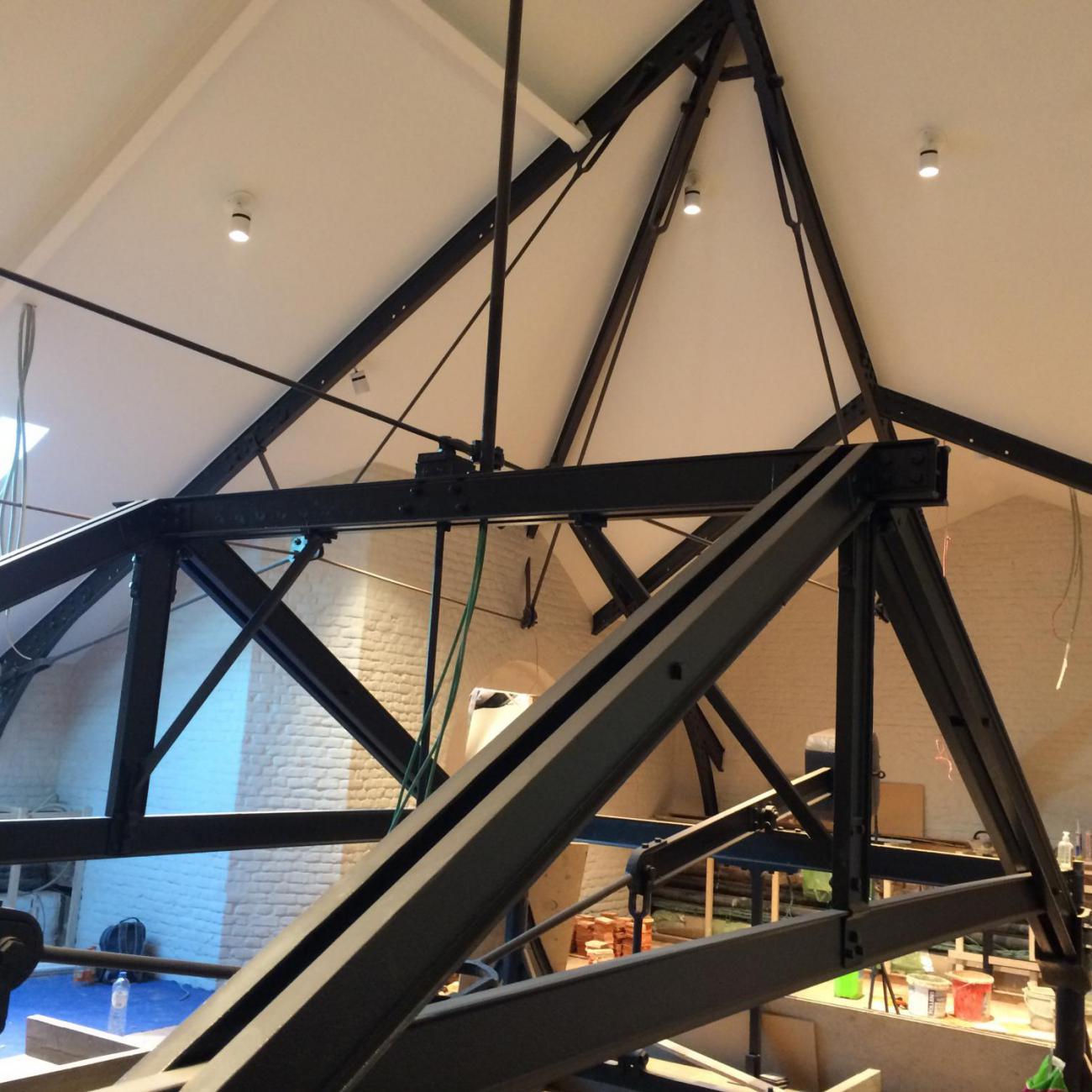Staalstructuur dak
