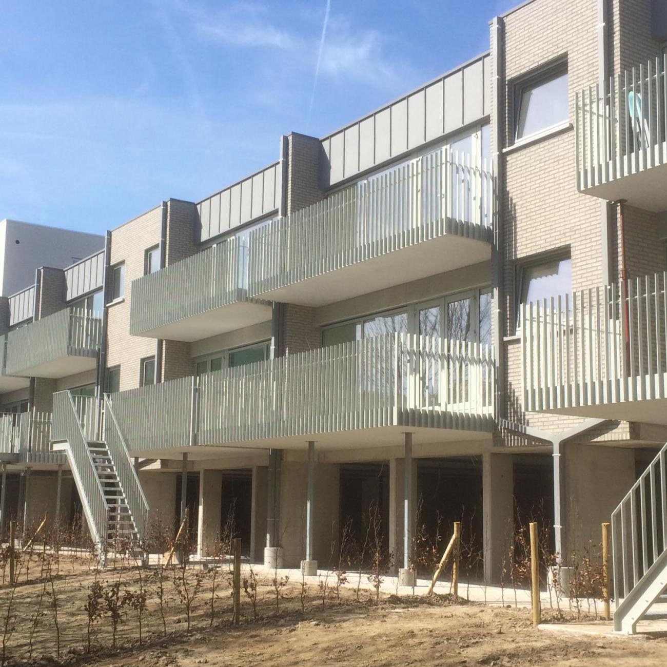 Buitentrappen + balustrades