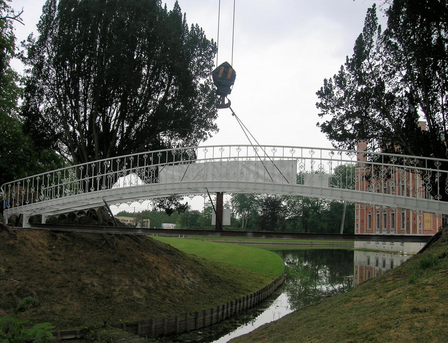 Stalen brug