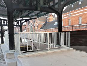 stalen balustrade