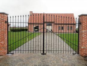 metalen poort
